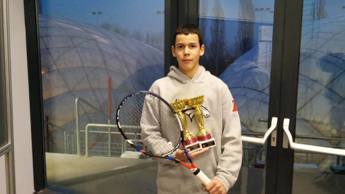 Szobathelyi Benedek országos bajnokság U14 egyéni 3. helyezett