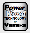 Yasaka Power Wood logó