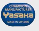 Yasaka az asztalitenisz bajnokainak gyártója